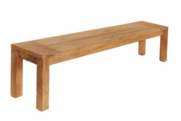 Teak indoor benches made from solid teak wood