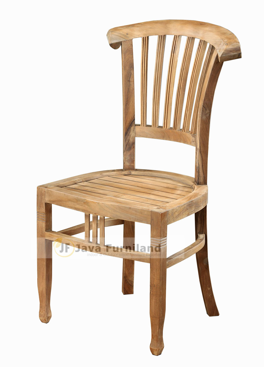 Batavia teak dining chairs indoor outdoor furniture jepara