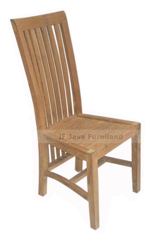 Teak Dining Chair Solid Wood Jepara Furniture Online Exporter