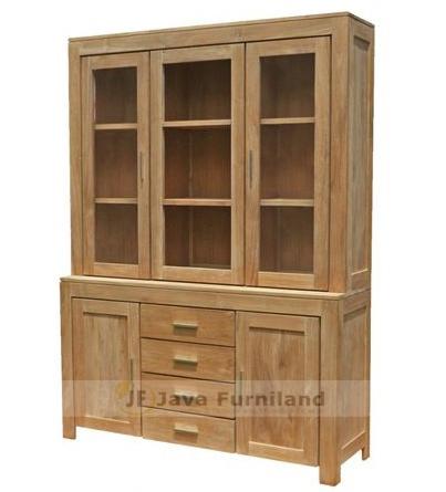 Bali Antique Indonesia Furniture Exporter Bookcase Display Cabinet