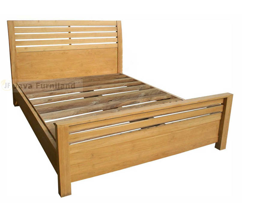 TEAK BED JAVA SIMPLE