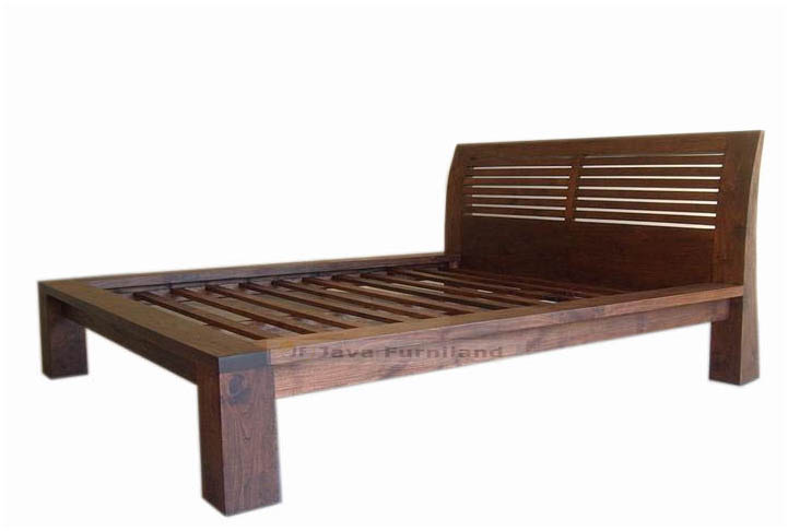 TEAK BED BALI ANTIQUE