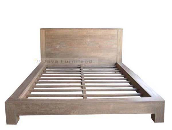 Bali bedroom furniture bed frame sleigh bed design direct exporter