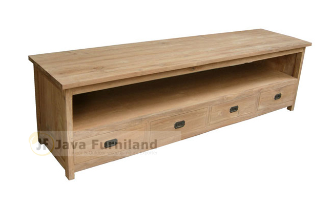 TV TABLE STAND 4 DRAWERS