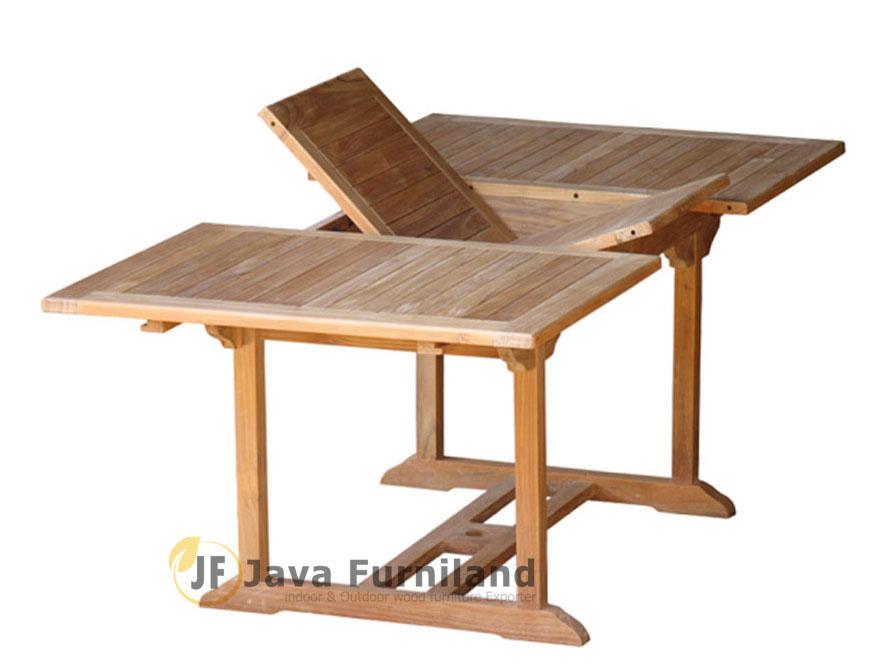 Square Rectangular Extending Table 180 240 120