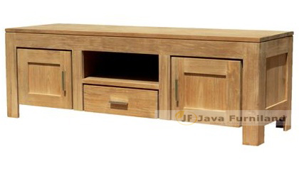 BALI CONSOLE TV BUFFET 1 DRAWER 2 DOORS