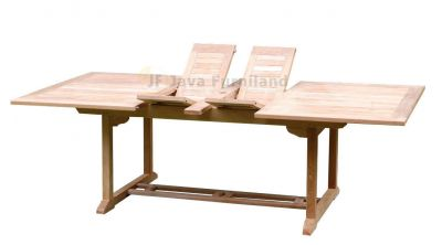 Square Double Extending Table 200-300