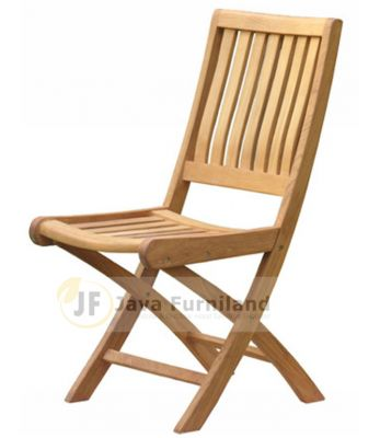 BALI FOLDING CHAIRS WIDE SLAT