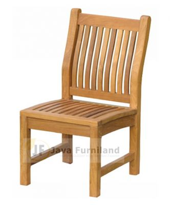 TEAK TEGAL FIXED CHAIRS