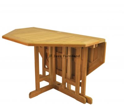 Octagonal Butterfly Table 120