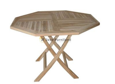 Classic Octagonal Folding Table 90