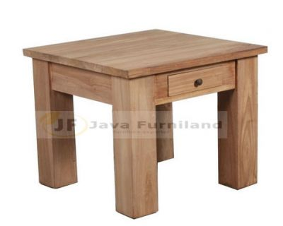 COFFEE TABLE SQUARE 50 WITH DRAWER