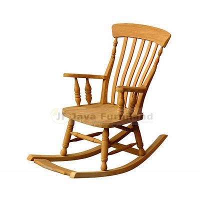 TEAK PANDA ROCKING CHAIR