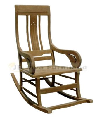 TEAK MBAE ROCKING CHAIR