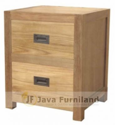 NIGHTSTAND BEDSIDE TABLE W DRAWER