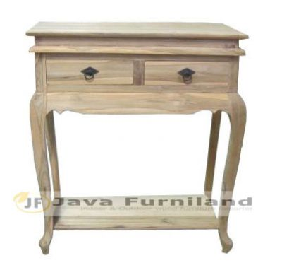 CONSOLE TABLE 2 DRAWERS GARENGAN