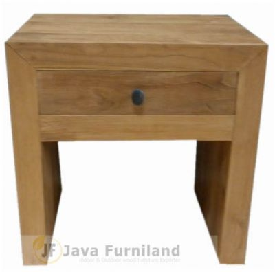 TEAK NIGHTSTAND TABLE